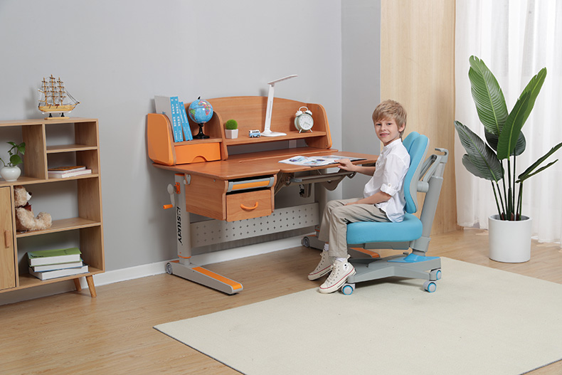wooden kids study table