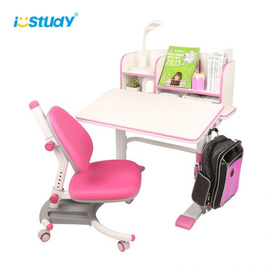 Pink Children's Study Table